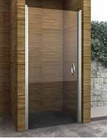 Душевая дверь распашная Aqua-World Pivot PV80S ДкПд.80-Tr стекло прозрачное