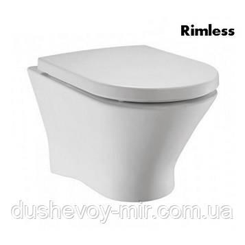 ROCA NEXO Clean Rim подвесной унитаз с сиденьем slow-closing 801330N04 (в упак.) A34H64L000