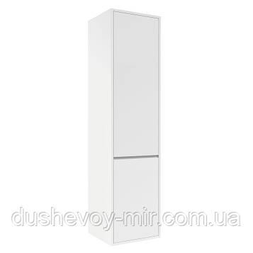 Пенал TEO VOLLE 139*35*35см, подвесной, белый