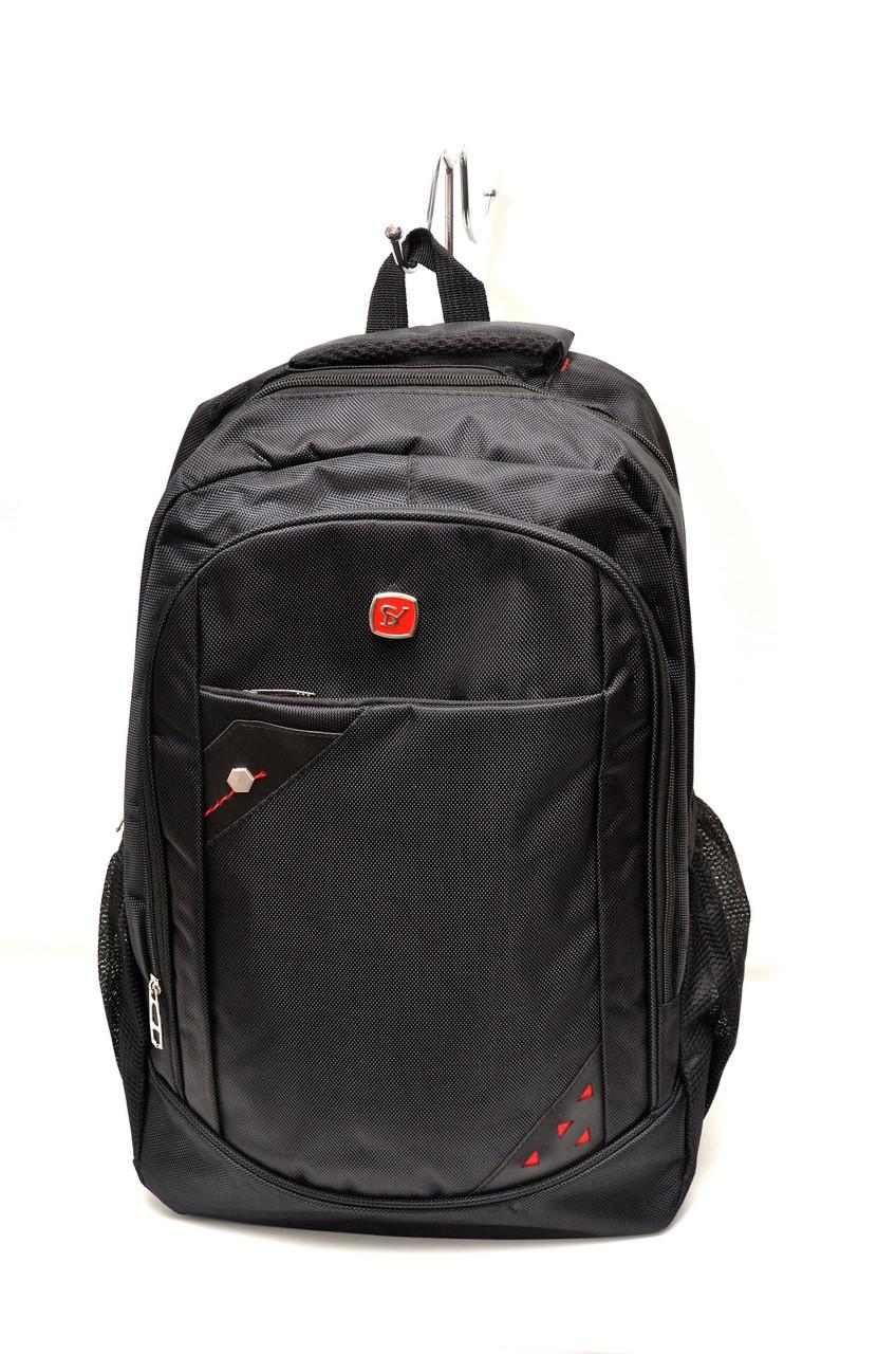 Рюкзак міський Ribon Чорний (0128101)