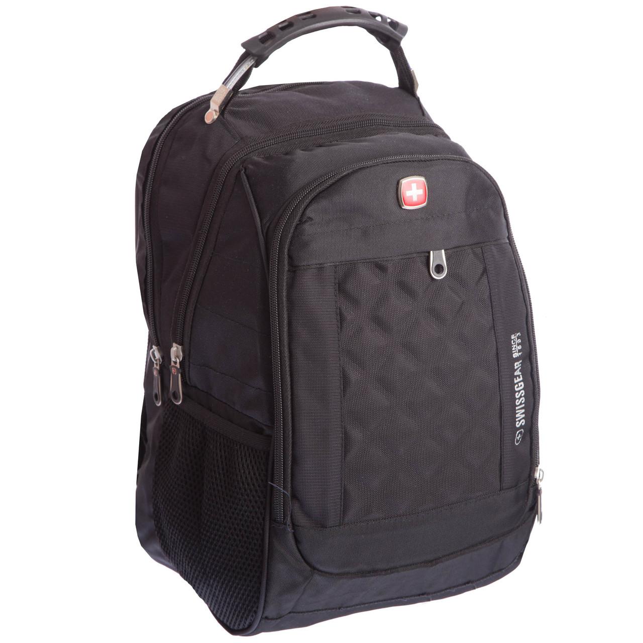 Рюкзак міський planeta-sport VICTOR 20л 028 17х28х39см USB Чорний