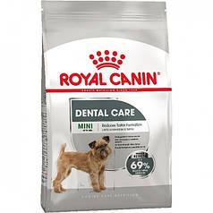 Сухой корм Royal Canin Mini Dental Care для собак склонных к образованию зубного налета камня Срок 07.07.2021