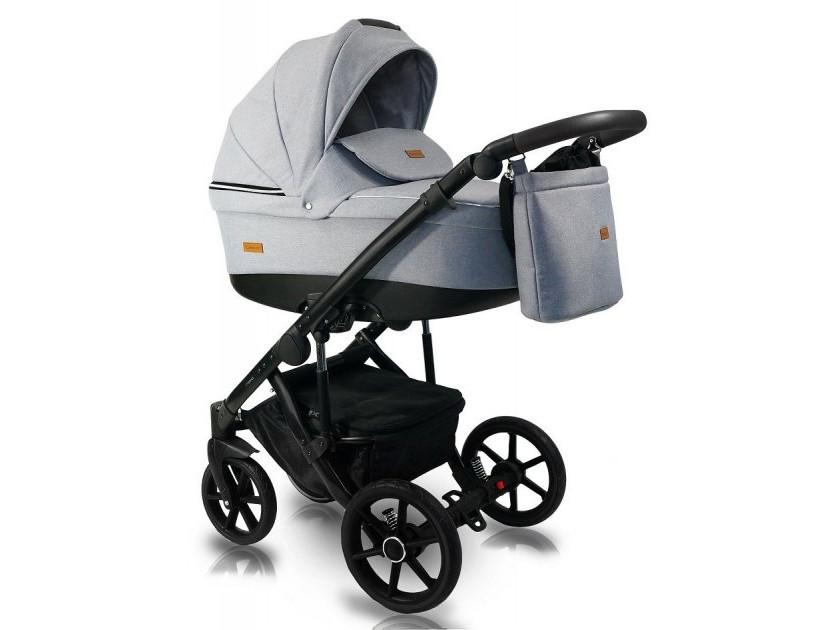 Дитяча коляска 2 в 1 BEXA ULTRA 2.0 сірий світло U6