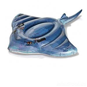 Дитячий надувний пліт для катання Intex 57550 «Скат», 188 х 145 см, (Оригінал)