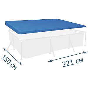Тент - чохол для каркасного басейну Bestway 58103, 221 х 150 см, (Оригінал)