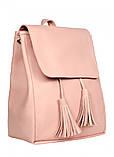 Женский рюкзак Sambag Loft BZNa пудра 22300006a, фото 3