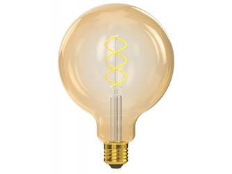 Филаментная світлодіодна лампа Luxel 070-HG 6W G125 E27 1800K (070-HG) Gold