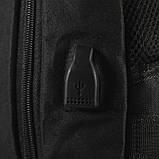 Рюкзак городской Lesko LP-538 Черный, фото 5