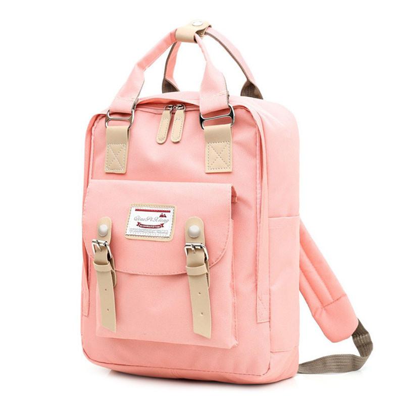 Рюкзак повседневный Lesko SM-04 Светло-розовый