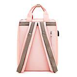 Рюкзак повседневный Lesko SM-04 Светло-розовый, фото 2