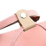 Рюкзак повседневный Lesko SM-04 Светло-розовый, фото 4