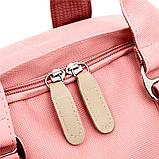 Рюкзак повседневный Lesko SM-04 Светло-розовый, фото 6