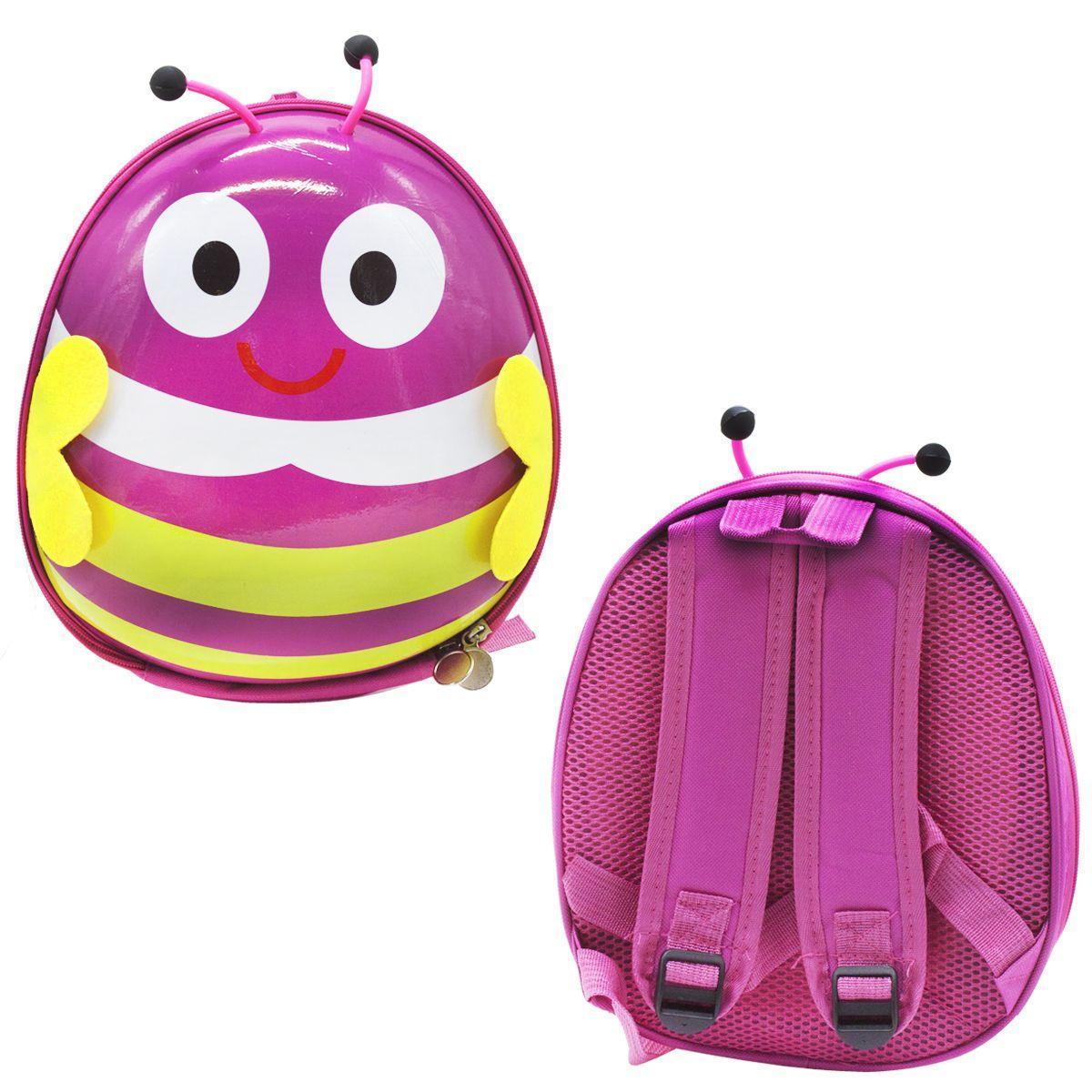 Рюкзак детский Bambi BG8402 с крылышками Фиолетовый