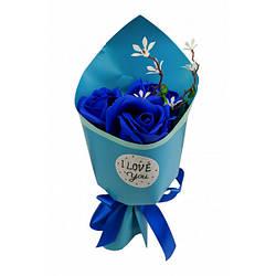 Аксесуари для свята MK 3317 квіти,букет (MK 3317(Blue))