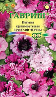 Петуния Триумф Черны бахромч. 10 шт. пробирка