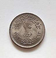 10 пиастров Египет 1972 г., фото 1