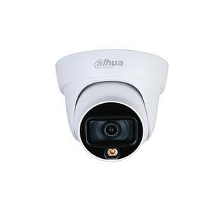 HDCVI відеокамера 5 Мп Dahua HAC-HDW1509TLP-A-LED (3.6 мм) з вбудованим мікрофоном для системи