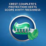 2x Зубна паста свіже дихання Crest Scope Toothpaste 306гр (Пакування із 2шт), фото 2