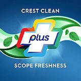 2x Зубна паста свіже дихання Crest Scope Toothpaste 306гр (Пакування із 2шт), фото 3