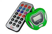 FM-трасмиттер 8in1, SY-C45, яблоко, зеленый /фм модулятор, авто, автомобильный