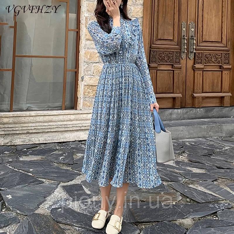 Жіноче плаття з шифону