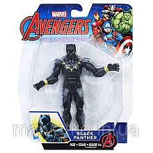 Фігурка Чорна Пантера 15см (Месники) - Black Panther, Avengers, Basic, Hasbro