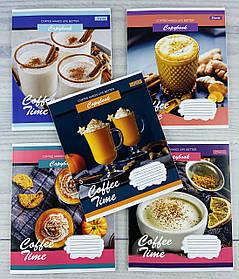Зошит 48 аркушів в клітинку Coffee time-21 765461 32127Ф 1 вересня Україна