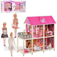 Будиночок з меблями для ляльок типу Барбі арт. 66884