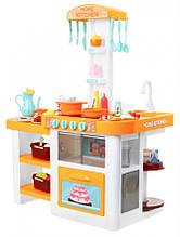 Кухня дитяча з циркуляцією води Home Kitchen (ЖОВТА) арт. 889-63-64