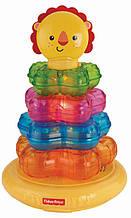 Розвиваюча музична іграшка Пірамідка Левеня від Fisher-Price