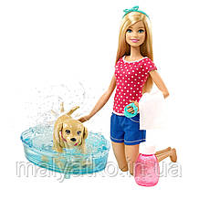 Барбі Веселе купання цуценя Barbie Splish Splash Pup Playset