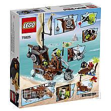 Lego Angry Birds Піратський корабель свинок 75825