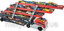 Hot Wheels Великий автовоз перевізник Mega Hauler на 50 машинок