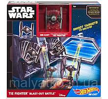 Hot Wheels Star Wars Набір Бій Ти-Файтера Tie Fighter Blast-Battle Out