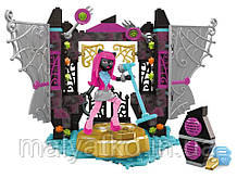 Мега блокс Кэтти Нуар сцена  Mega Construx Monster High Stage Fright Building Set