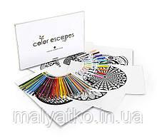 Подарочный набор Crayola Орнамент Color Escapes Coloring Pages & Pencil Kit