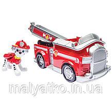 Nickelodeon Paw Patrol Щенячий патруль Маршалл з пожежною машиною зі звуковими ефектами