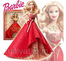 Лялька Барбі колекційна Святкова 2014 Holiday Barbie Doll