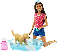 Лялька Барбі Веселе купання цуценя Barbie Splish Splash Pup Playset