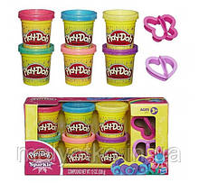 Play-Doh Sparkle Compound Collection Набор пластилина с блестками