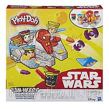 Большой Play-Doh Star Wars Millennium Falcon Can Heads Тысячелетний Сокол