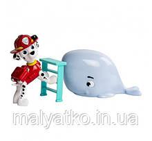 Paw Patrol Marshall and Baby Whale Rescue Set Щенячий патруль Маршал