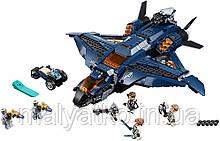 Lego Super Heroes Модернизированный квинджет Мстителей 76126