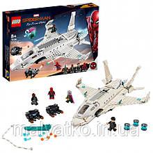 Lego Super Heroes Реактивный самолёт Старка и атака дрона 76130