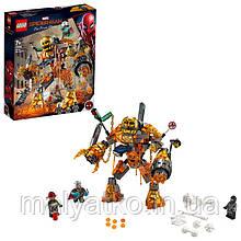 Lego Super Heroes Бой с Расплавленным Человеком 76128