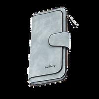 Женский кошелек клатч Baellerry Forever Голубой 190х105х30 мм