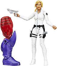 Фигурка Hasbro Шэрон Картер, Легенды Марвел 15 см - Build a Figure, Red Skull Series
