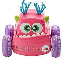 Машинка-монстрик Fisher Price Натискай і запускай DRG16 Press 'N Go Monster Truck рожевий