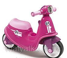 Детский беговел Smoby 721002, скутер, каталка