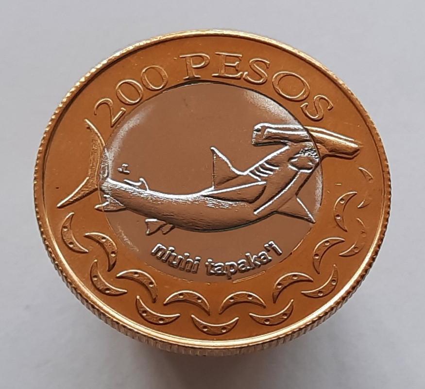 Острів Пасхи 200 песо 2007